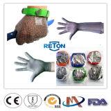 Gants d'acier inoxydable de Long-Douille/boucher fonctionnants protecteurs Mest de Long-Douille traitant des gants