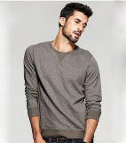Top Fashion Men Cotton Leisure Apparel Crew Neck Sweatshirts