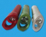 Het mini LEIDENE Flitslicht van Keychain met Flesopener