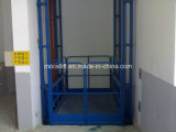 Elevación del cargo del almacén y precio hidráulicos verticales de la elevación de mercancías