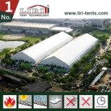 [40م] عرض منحنى [تفس] خيمة كبيرة لأنّ معرض مع [فولّ لين] شريكات من يقود خيمة صاحب مصنع