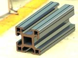 O material de construção dos perfis de alumínio/expulsou os perfis de alumínio para a parede de cortina