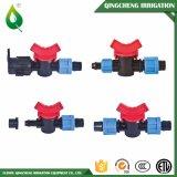 Válvula de púas dual de riego de la mini irrigación de la agricultura