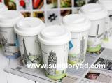 Versterk de Mok van het Porselein met de Dekking van het Silicone van Lkb041
