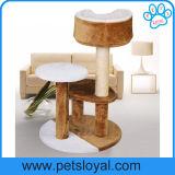 Meubilair van de Kat van de Boom van de Kat van het Huisdier van de Verkoop van de fabrikant het Hete