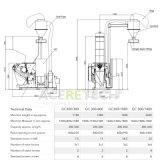 Granulierer/Reißwolf/Zerkleinerungsmaschine für Plastik-PP/PE/PS/EPE/EPS/XPS Film-Blatt/Vorstand