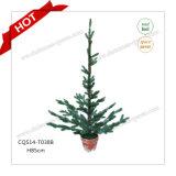 H90-125cm 100%년 PE 플라스틱 인공적인 크리스마스 나무 크리스마스 훈장