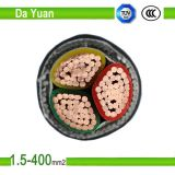 câble d'alimentation isolé par PVC de 0.6/1kv Cu/XLPE/Swa/PVC