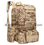 sports militaires extérieurs de 600d Camo augmentant le sac à dos de sac de combinaison
