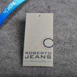 Tag feitos sob encomenda do cair do papel de embalagem Do logotipo do preço de fábrica para o vestuário