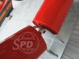 SPD 벨트 콘베이어 롤러, 여물통 롤러 세트, 강철 롤러