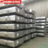 Material para techos acanalado de la hoja de acero del cinc de la fábrica