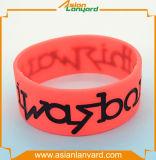 Il migliore venditore mette in mostra il Wristband del silicone