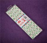 Productos de papel para fiestas Niños Paja de beber Paja de papel