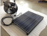 12inch 15W 25W 9.6ah 건전지 시스템 (SN2013014)를 가진 태양 박공 팬