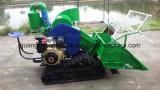 Самоходный польностью подавая тип 4lz-0.7 миниая жатка зернокомбайна (резиновый колесо следа или покрышки) рис, пшеницу, ячмень/машину земледелия/ферму Machinery/H