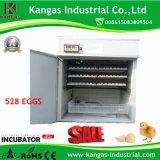 Incubateur complètement automatique approuvé d'oeufs de poulet de la CE petit en grande vente (KP-8)