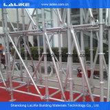 Échafaudage galvanisé de système de Ringlock d'IMMERSION chaude pour l'usage industriel