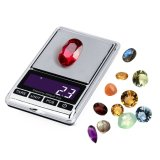 mini Digitaces diamante Pocket de 200g que pesa la escala de la joyería