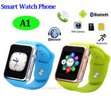 Bluetooth del teléfono del reloj inteligente con función de podómetro (A1)