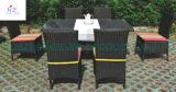Ensemble sectionnel en osier de meubles de jardin de sofa de meubles de Rio de patio de patio de sofa extérieur réglé à la maison de rotin