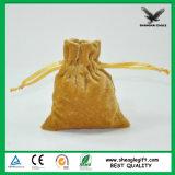 O homem de empacotamento da jóia feita sob encomenda fêz a fonte da fábrica de Shanghai do saco da camurça