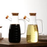 acima do Kitchenware de vidro elevado da chaleira do petróleo de Boroslicate da classe