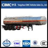 3 Adr Saso 45000liter van de as de Aanhangwagen van de Tank van het Aluminium van de Brandstof