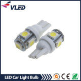 Bulbo del coche del poder más elevado 12V W5w T10 5050 5SMD 1.5W LED