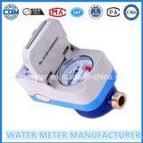 Mètres d'eau intelligents payés d'avance avec la carte d'IC/RF