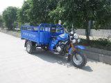 モーターを備えられた三輪車の人力車