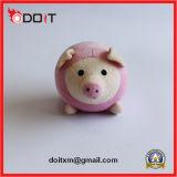 La aduana rosada del juguete del perro de la felpa hace los juguetes del perro