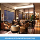La sala de estar de la habitación de hotel crea el sofá para requisitos particulares de madera fijado (SY-BS78)