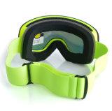 Изумлённые взгляды Snowboard Eyewear спортов UV предохранения отражательные над стеклами