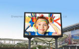 P8 High Technology Outdoor Fullcolor LED Screen Electronic alumínio Die Cast Display