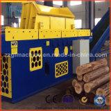 Tipo hidráulico madeira que raspa o equipamento