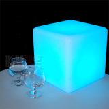 "12 "" LED棒椅子の立方体の形の白熱腰掛け"