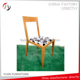 De comfortabele Midden Achter Houten ImitatieStoel van het Ijzer van het Restaurant (fc-160)