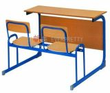Mobília de madeira da mesa da escola do estilo artístico quente da amostra