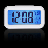 Horloge d'alarme électronique d'appareil de bureau du contrôle DEL de sons de la température