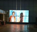 Mur d'intérieur de vidéo numérique de l'usine P4 de DEL