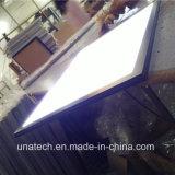 Alumínio interno dos media que anuncia a caixa leve magro do diodo emissor de luz