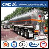 Cimc Huajun 45-55cbmのアルミニウム燃料またはオイルまたはガソリンタンカー(コンパートメントはchoosedできる)