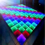 튼튼한 LED 미러 위원회 댄스 플로워 빛
