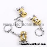 Mini catena chiave di pesca a traina della bobina di pesca di vendita calda