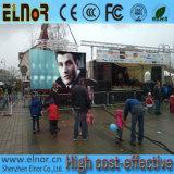 P8 반 옥외 방수 고해상 광고 LED 단위