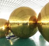 Bolas grandes vendedoras calientes del espejo del espejo de la bola de la bola inflable inflable del claro
