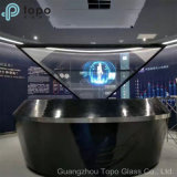 Geen Ghosting Frameless Magic Mirror Glass voor LED Advertising Display (S-F7)