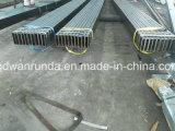 Utilisation en acier rectangulaire de tube dans les machines (Q235B, SS400, S235JR, Q345B, S355JR, A500 gr. B)