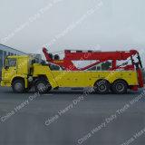 HOWO 8X4 Road Wrecker Truck Camion de remorquage camion de récupération